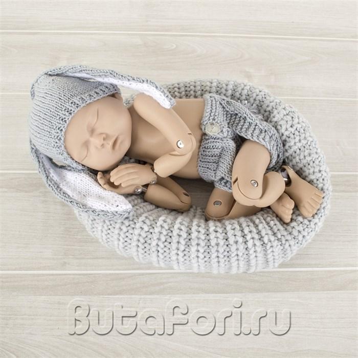 Костюмчик Серенького Кролика для фотосессии нооврожденного