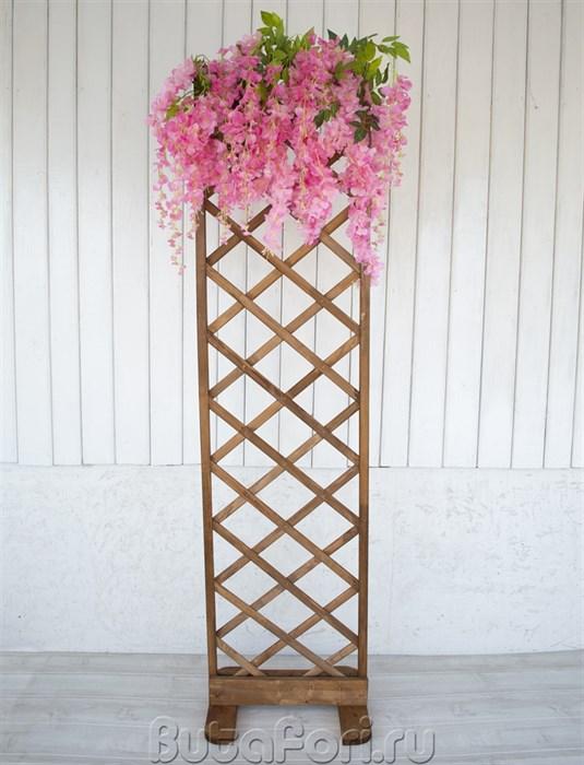 Лофт шпалера с цветами