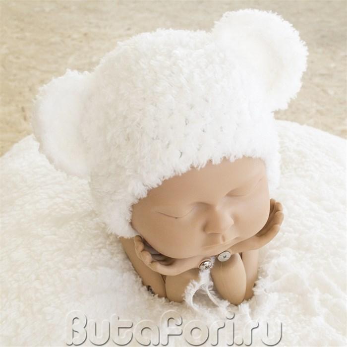 Шапочка Белого Мишки для фотосессии
