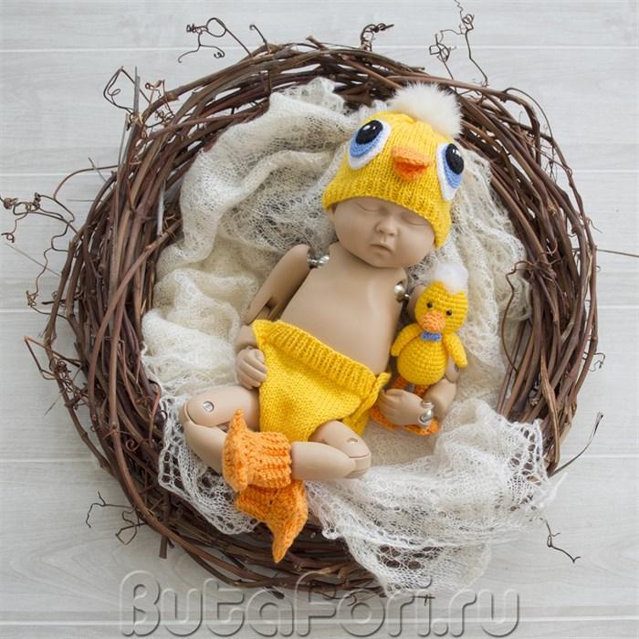 Комплект для фотосессии новорожденного - Желтый утенок