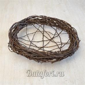 Гнездо из груши для фотосессии новорожденных
