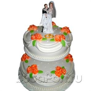 """Свадебный торт """"Молодожены"""" в Пензе"""