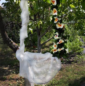 """Подвесные качели """"Дикая орхидея"""""""