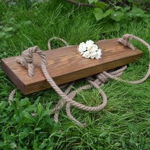 Веревочные качели лофт