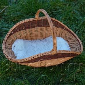 Корзина плетеная для newborn съемки