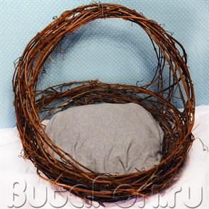 Корзина гнездо для newborn съемки