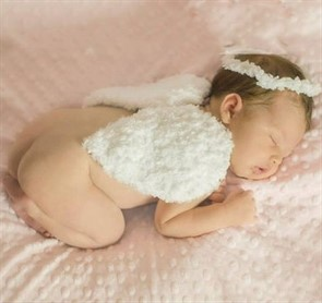 Крылья ангела для новорожденого