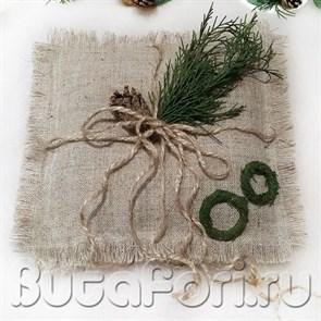 Свадебная подушечка для колец Ветра зимы