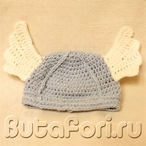 Шлем викинга для фотосессии новорожденного