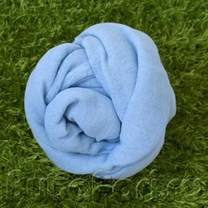 Обмотка для фотосессии новорожденного - Голубая