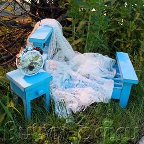 Кроватка для фотосессии новорожденных