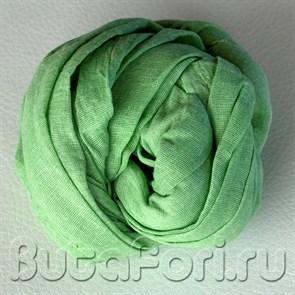 Зеленая обмотка для фотосессии новорожденных