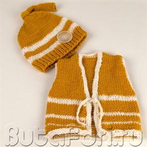 """Одежда для фотосессии новорожденного """"Лесоруб"""""""
