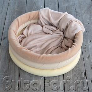 Мягкое гнездо для фотосессии новорожденного