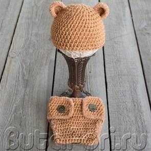 Костюмчик для новорожденного - Бурый Мишка