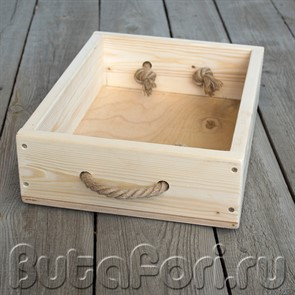 Деревянный ящик для фотосессии