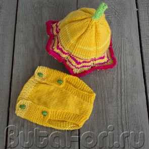 Одежда для фотосессии новорожденного - Тигровая Лилия