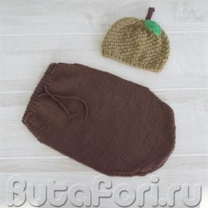 Одежда для фотосессии новорожденного - Желудь