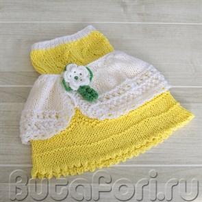 Вязаное платье Золушки