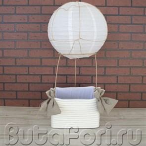 Воздушный шар для фотосессии новорожденных