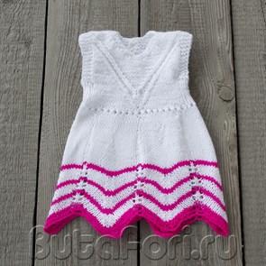 Вязаное платье Лилия