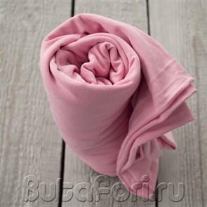 Розовая обмотка для фотосессии новорожденного