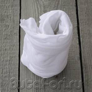 Белая тканевая обмотка для фотосессии новорожденных
