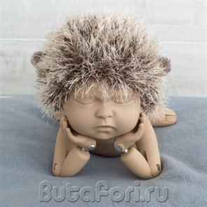 Костюм Ежик для фотосессии новорожденного