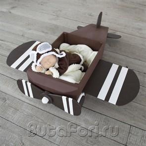 Комплект Летчика для фотосессии новорожденного