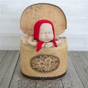 Костюмчик Машеньки для фотосессии новорожденной