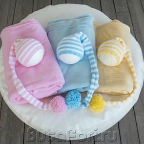 Коллекция полосатых колпаков для новорожденных