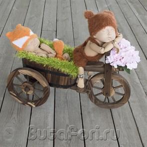 Велосипед для фотосессии новорожденных