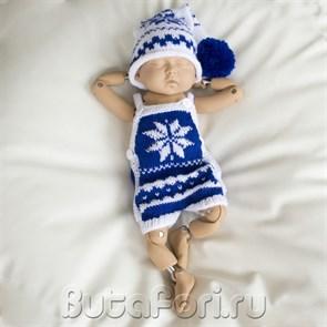 Новогодний костюм для фотосессии новорожденного