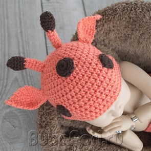 Жирафик шапочка для младенца
