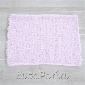 Розовый коврик для фотосессии новорожденных