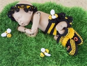 Костюмчик Пчеленка для новорожденного