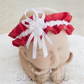 Повязка для фотосессии новорожденных Розочки