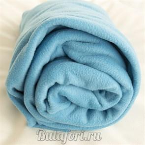 Флисовый фон голубого цвета для фотосессии новорожденных