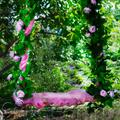 декоративные подвесные качели
