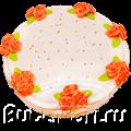 свадебный торт домашнего изготовления